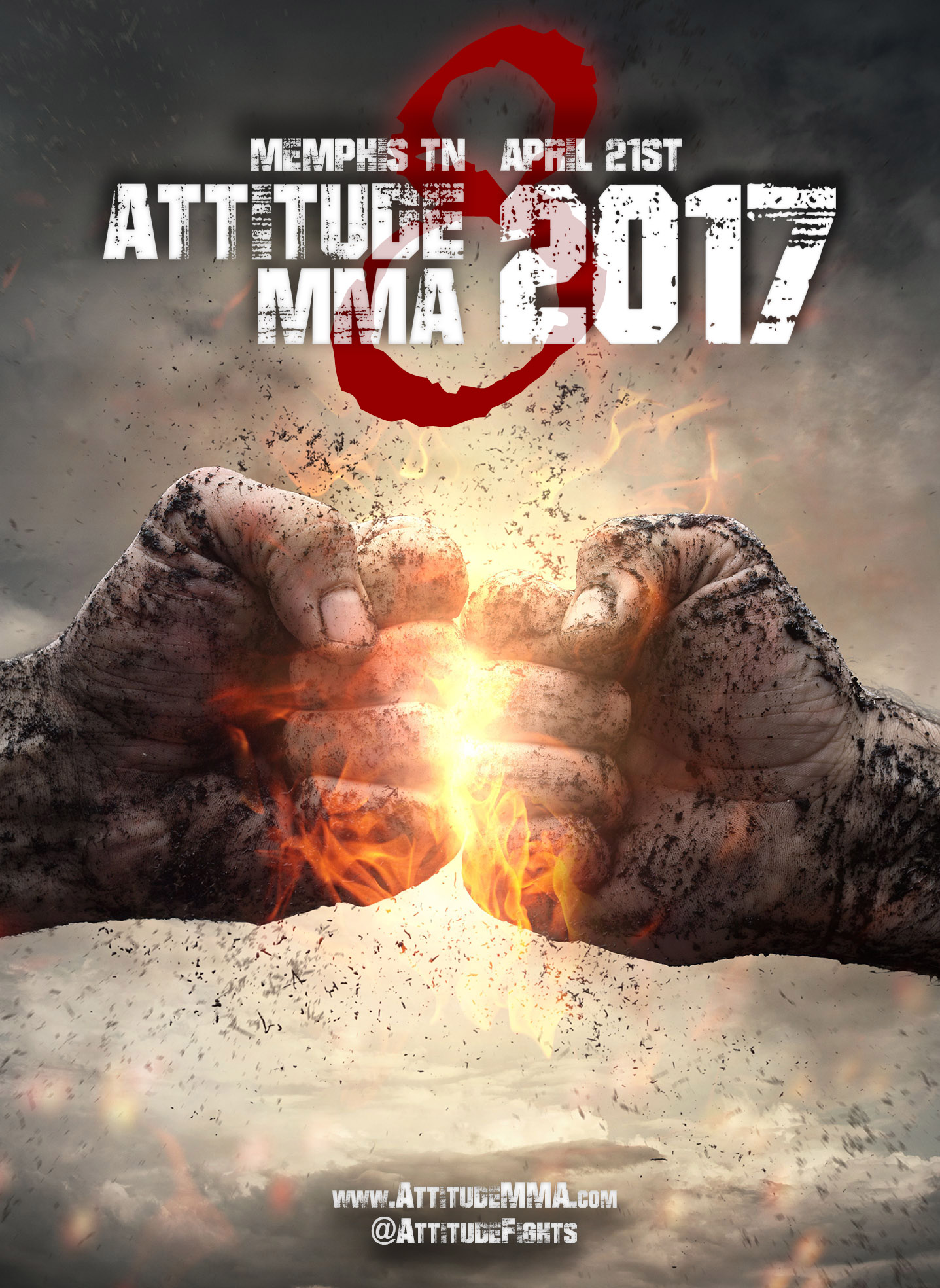 Attitude MMA Fights 8 - mixed martial arts event on april 21st in Memphis TN