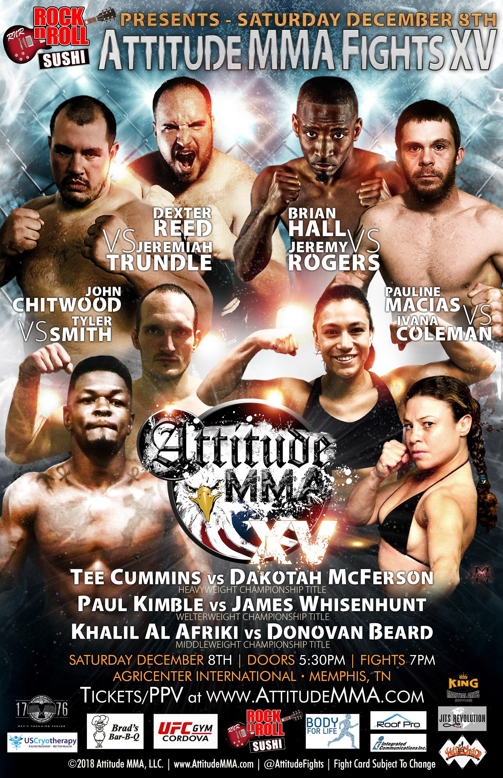 Attitude MMA Fights XV